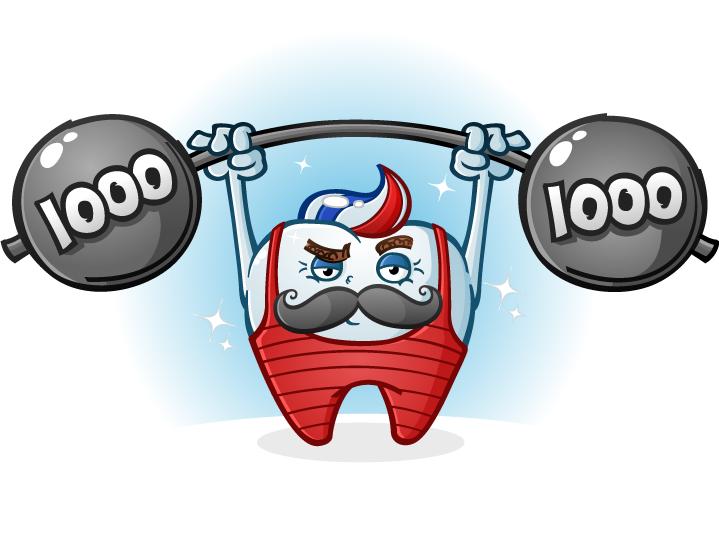 weight-lifting tooth